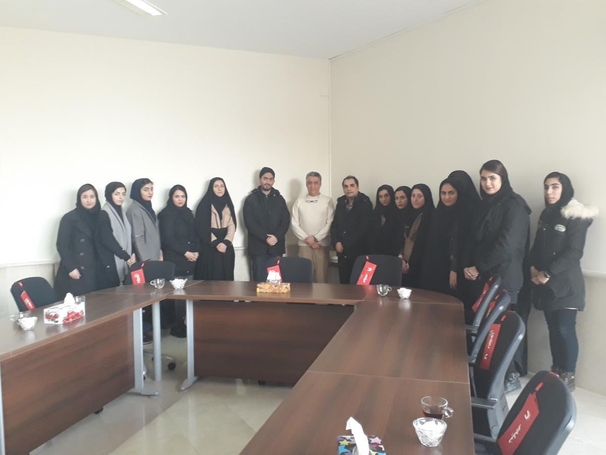 بازدید از نیروگاه شریعتی مشهد